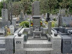 市川市市営霊園4�u墓地の施工事例(内山家)