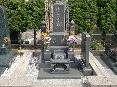 習志野海浜霊園の施工事例2(和型石塔)