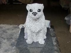 ペットのオブジェのお墓の事例