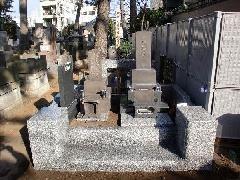 地蔵山墓地改修工事