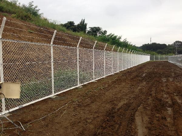 フェンス 取付工事