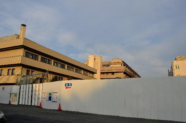 循環器呼吸器病センター 足場