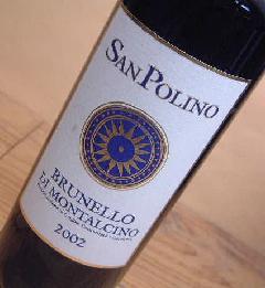 サン・ポリーノ・ブルネッロ・ディ・モンタルチーノ2002