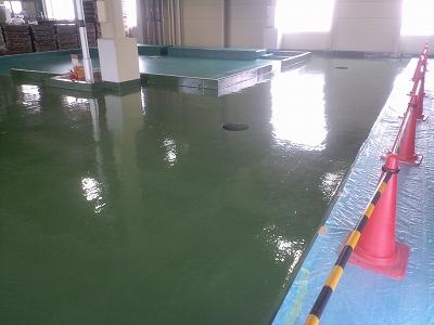 ケミクリートSV(ビニルエステル樹脂系防食仕上材)