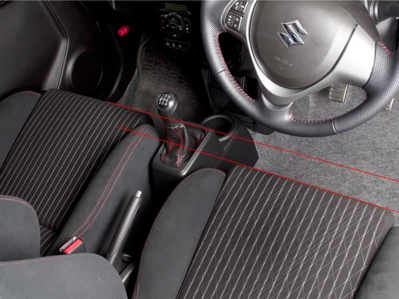 新型アルトワークス用 ローポジションシートレールアダプター バックオフセットスライド
