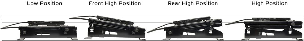 新型ジムニーJB64用 シートレール