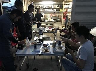 歓迎式BBQ