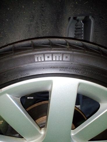 momoのタイヤ