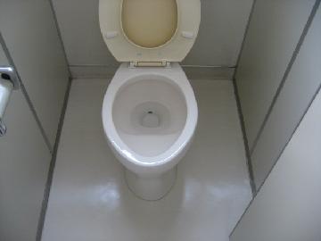 オフィスのトイレを清掃いたします。
