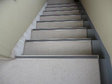 外階段もお任せください。