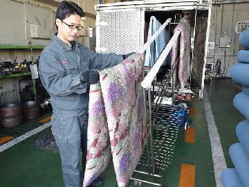 布団乾燥作業を写真でご紹介