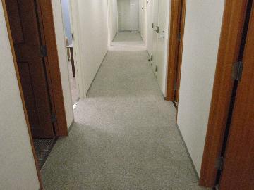 廊下カーペット清掃