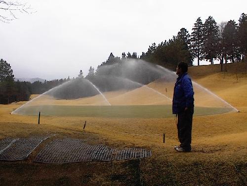 散水設備施工