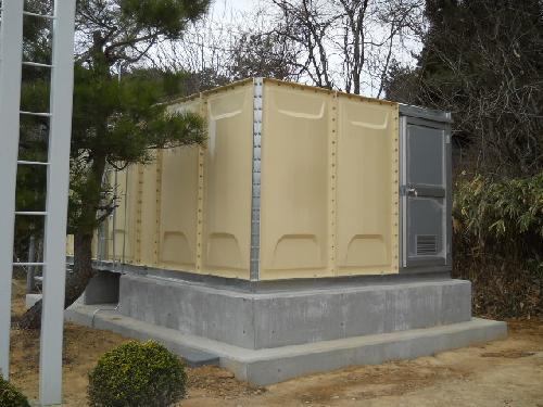 ポンプ設備施工