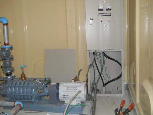 送水ポンプ施工