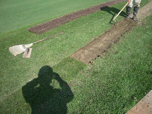 散水設備改修 ゴルフ場