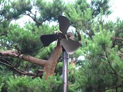 ゴルフ場 扇風機