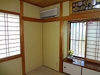 内装の塗替え(京壁)