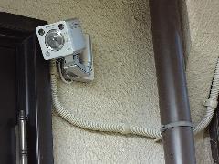 麻生区上麻生 センサーカメラ及びインターフォン取り付け工事
