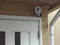 小平市 センサーカメラ及びインターホン設置工事