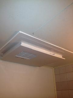 横浜市西区浅間町 浴室暖房新規取付工事