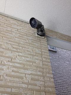 横浜市戸塚区戸塚町 センサーカメラ及びインターホン設置工事