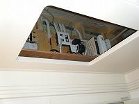 お風呂場の天井裏