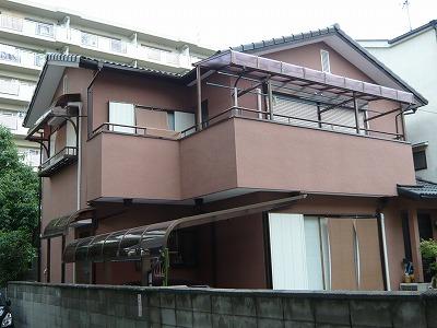 大阪府藤井寺市 外壁屋根塗装工事