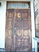 ドア 塗装前