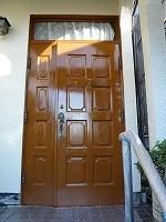 ドア 塗装後