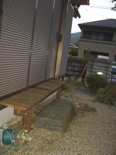 庭の空きスペースの有効利用として