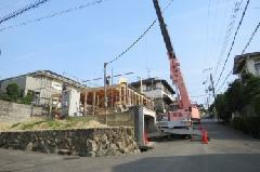 8/21 S様邸 棟上げ�@ →