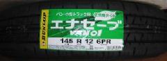 国産軽トラック・バン タイヤ 145R12 6PR 4本 21,600円