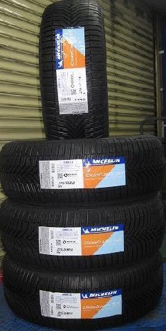 ミシュラン オールシーズン CROSSCLIMATE SUV   4本セット 160,600円