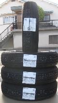 国産軽トラック・バン用タイヤ 145/80R12 80/78N 4本 26,400円 2021年製