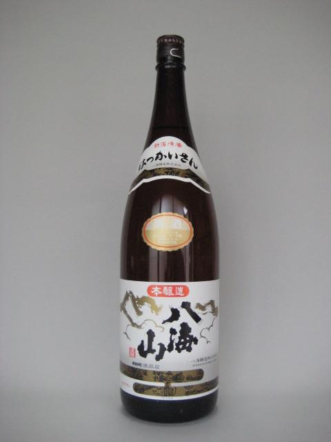 八海山(特別本醸造)一升瓶