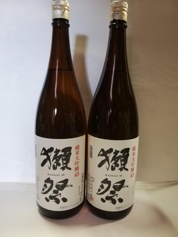 獺祭45純米大吟醸一升瓶