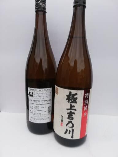 極上吉乃川(特別純米)一升瓶