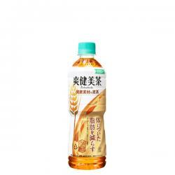 爽健美茶 健康素材の麦茶 600mlPET×24本