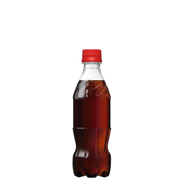 コカ・コーララベルレス350mlPET