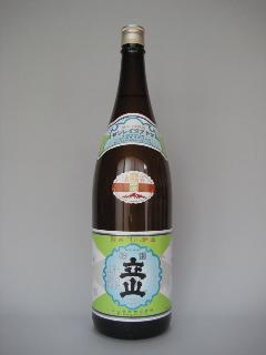 立山(銀嶺)本醸造一升瓶