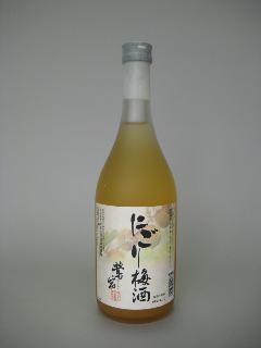 にごり梅酒 鶯宿梅 (鳴門鯛) 瓶720ml