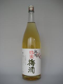 中野 紀州 蜂蜜梅酒 一升瓶
