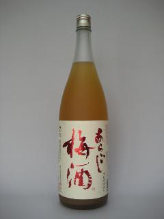 梅乃宿 あらごし(にごり)梅酒 一升瓶