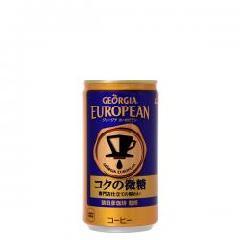 ジョージアヨーロピアンコクの微糖 185g缶×30本