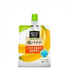 ミニッツメイド朝バナナ 180gパウチ(6本入)