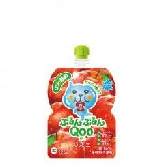 ミニッツメイドぷるんぷるんQoo りんご 125gパウチ(6本入)