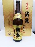 浦霞(生一本)純米酒一升瓶