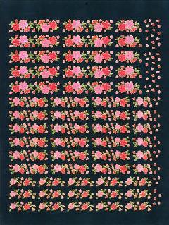 蛍桜蛍蝶うさぎシート