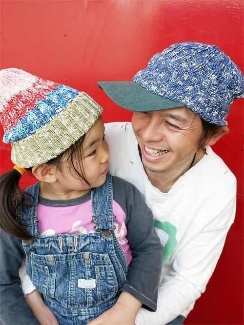 MIXツバ付きニット帽 PKC028C (col.49)